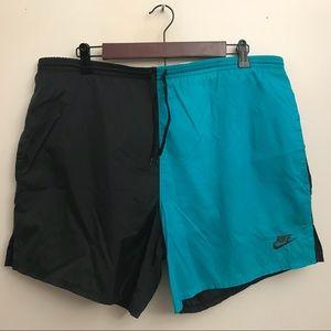 Vintage Nike Grey Tag split shorts